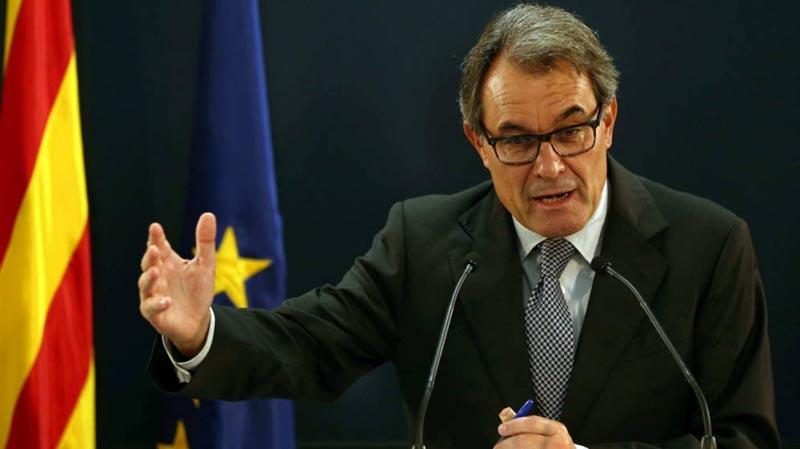 El expresidente catalán Artur Mas deja su partido
