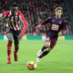 Liga Santander: Athletic y Eibar abren la 21ª jornada con un empate 1-1