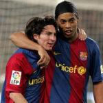 Lionel Messi agradece a Ronaldinho su magisterio en el Barcelona