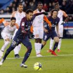 Liga-1 de Francia: PSG con retorno de Neymar golea 4-0 al Montpellier