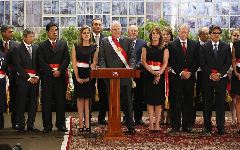 Nuevo Gabinete juramenta este martes en Palacio de Gobierno