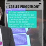 """Puigdemont en mensajes al ERC: """"Esto se terminó, me sacrificaron"""" (VIDEO)"""