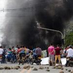Protestas en Colombia dejan 36 personas detenidas