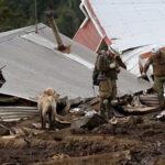 Aumentan a 17 víctimas del alud que sepultó un pueblo del sur de Chile