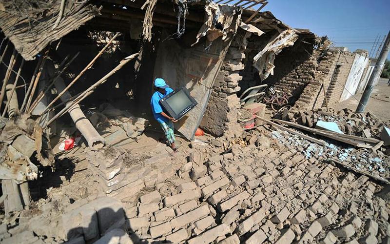 Sismo 7,1 afecta las costas de Perú y deja heridos leves