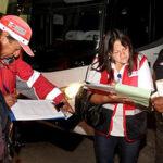 Intensifican fiscalización a empresas de transporte interprovincial en garita de Ancón