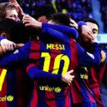 Barcelona defiende con mano de hierro la punta en la Liga Santander