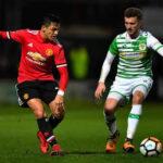Manchester United en el debut de Alexis Sánchez golea 4-0 al Yeovil