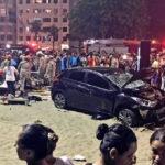 Brasil: Pierde control de auto e irrumpe en playa, un muerto y 15 heridos (VIDEO)