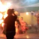 Iquitos: Bailarina arde como tea humana en pleno concurso (VIDEO)
