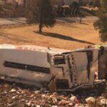 EEUU: Un tren con legisladores republicanos a bordo choca con camión