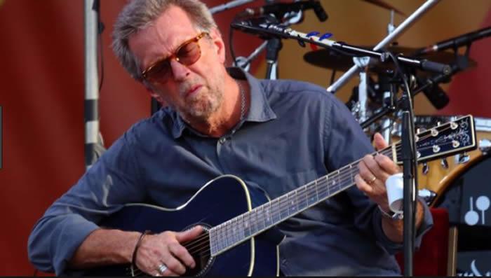Eric Clapton se está quedando sordo y sus manos apenas funcionan