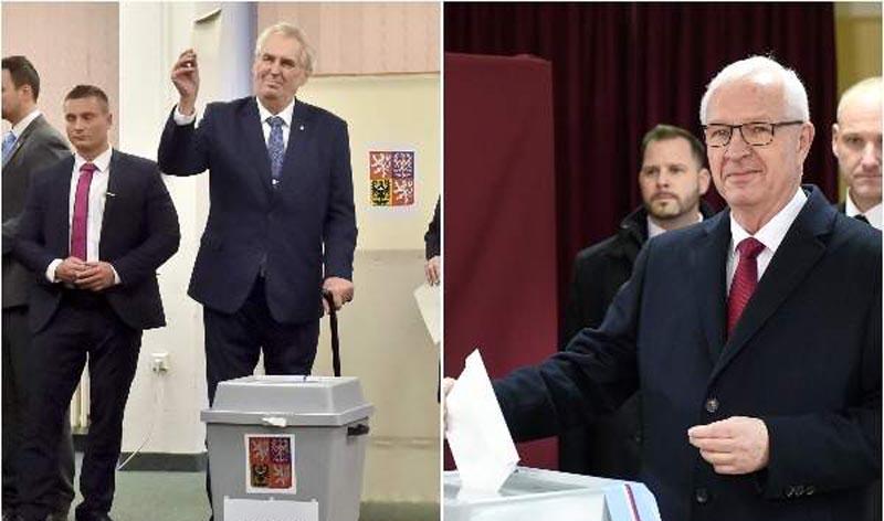 Checos eligen entre un prorruso y un proeuropeo