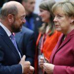 Merkel y Schulz prepararán las negociaciones para intentar formar gobierno