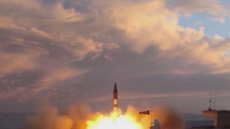 Un mensaje alarmó a la población por un misil balístico en camino