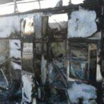 Kazajistán: Más de 50 muertos en el incendio de un autobús de pasajeros