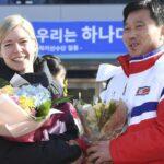 JJOO de PyeongChang: Las primeras atletas norcoreanas llegan a Corea del Sur