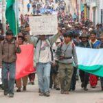 Al menos 5 heridos dejan protestas de campesinos por bajo precio de papa