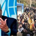 ONU exhorta a evitar la violencia durante las manifestaciones de protesta en Irán