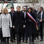 Charlie Hebdo: Emmanuel Macron en homenaje a víctimas
