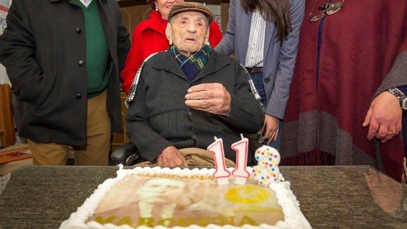 ¡Lamentable! El hombre más longevo del mundo falleció