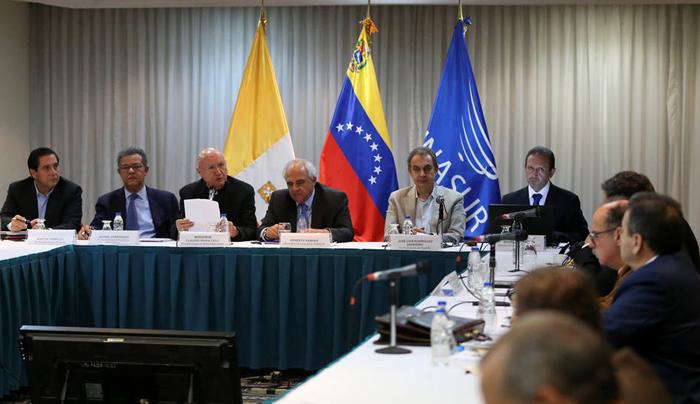 Firmamos un preacuerdo de entendimiento — Jorge Rodríguez