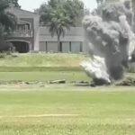 Argentina: Detonaron misil que estaba enterrado en una cancha de golf
