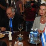 Jefa de diplomacia de la UE anuncia mayores intercambios con Cuba