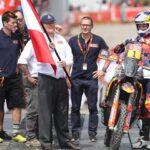 """El Dakar 2018 parte de Lima con un desfile de sus """"reyes"""" del motor"""