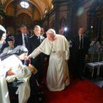 Papa Francisco: Mensaje en monasterio de las Nazarenas (VIDEO)