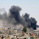 Al menos 17 muertos y decenas de heridos en bombardeos cerca de Damasco