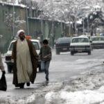 Irán:Intensa nevada bloquea carreteras, suspende vuelos y cierra escuelas