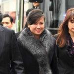 Ex novia del dictador norcoreano Kim Jong desata pasiones encontradas en Corea del Sur (VIDEO)