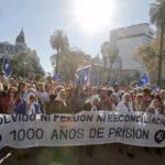 Protestas en Argentina contra beneficios a represores de la dictadura