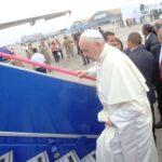 Trujillo: Papa Francisco fue recibido con marinera norteña (VIDEOS)