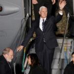 Vicepresidente de EEUU llega a Israel en medio de las protestas de palestinos (VIDEO)