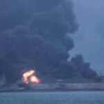 Irán da por muertos a 29 desaparecidos de petrolero que chocó en Mar de China