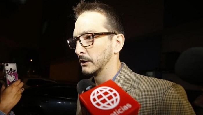 Edu Saettone es trasladado a sede del Poder Judicial [VIDEO y FOTOS]