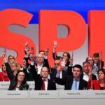 Dirección del SPD aprueba por amplia mayoría negociar gran coalición con Merkel