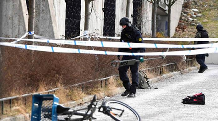 Explosión en una estación del metro de Estocolmo deja un muerto