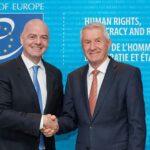 El Consejo de Europa y la FIFA firmarán acuerdo sobre DDHH en el fútbol