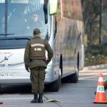 Al menos 50 alumnos de Carabineros de Chile intoxicados por emanación química