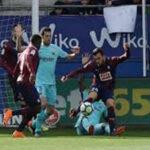 Liga Santander: Barcelona de visita sufrió para vencer por 2-0 al Eibar