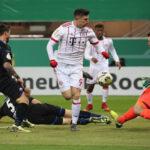 Copa de Alemania: Bayern Múnich pasa a semifinales goleando 6-0 al Paderborn