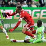 Bundesliga: Bayern con gol de penal en el m.91 derrota 2-1 al Wolfsburgo