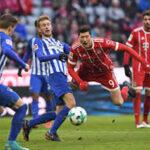 Bundesliga: Bayern Múnich rompe racha de triunfos al empatar 0-0 con Hertha