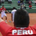 Copa Davis: Perú supera a Bolivia por 3-0 y avanza a la siguiente ronda