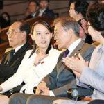 Presidente de Corea del Sur y hermana de Kim Jong-un asistieron a concierto (Fotos)