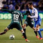 Liga Santander: Betis gana 1-0 y deja al borde de la baja al Deportivo