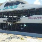 México: Explosión en barco de turistas deja al menos 18 heridos en Playa del Carmen (VIDEO)